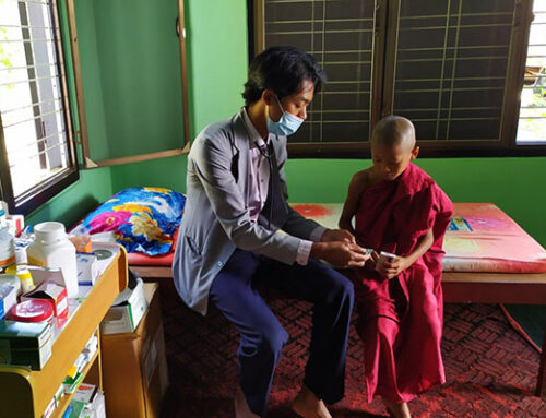 New School Health Partnership in Myanmar